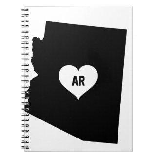 Caderno Amor da arizona