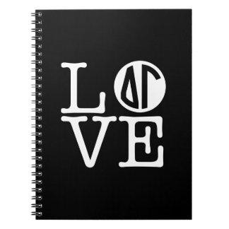 Caderno Amor da gama | do delta