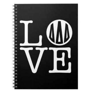 Caderno Amor do delta | do delta do delta