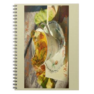 Caderno Amor do outono
