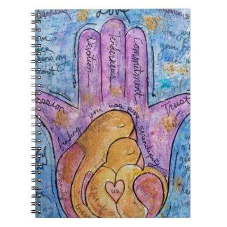 Caderno Amor Hamsa