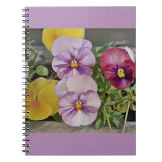 Caderno Amor perfeito bonito