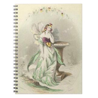 Caderno Amor perfeito de Les Fleurs