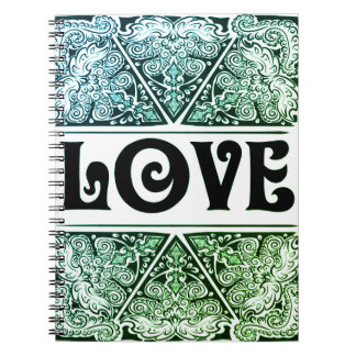 Caderno Amor - Quote´s positivo