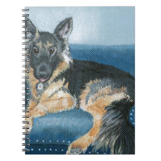 Caderno Angus o german shepherd