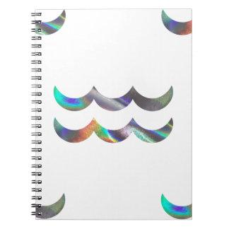Caderno Aquário do holograma