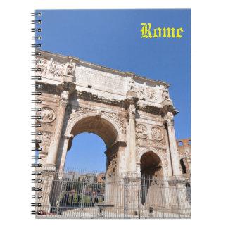 Caderno Arco em Roma, Italia