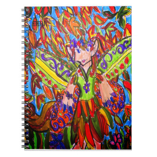 Caderno arte da fada da queda