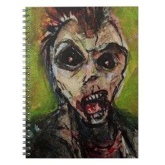 Caderno Arte de Apocolypse do zombi