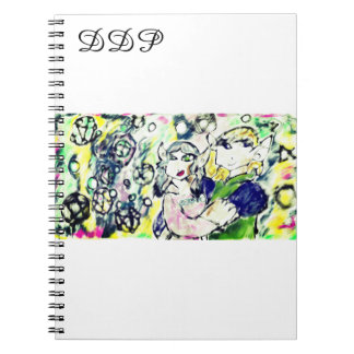 Caderno Arte do inverno dos duendes