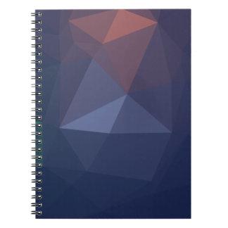 Caderno Arte geométrica elegante e moderna - alma do