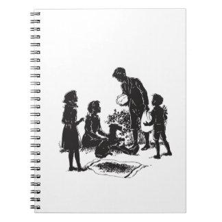 Caderno As crianças do vagão coberto: Henry tem duas