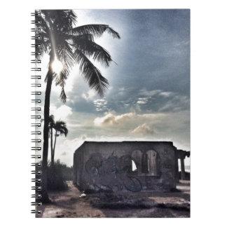 Caderno As ruínas na ilha de Bantayan