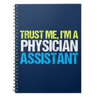 Caderno Assistente engraçado do médico