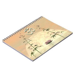Caderno Aum do zen - 3D rendem