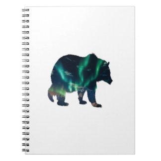 Caderno Aurora boreal