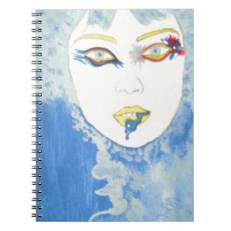 Caderno Azul bonito