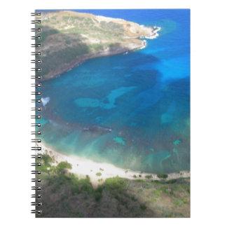 Caderno Baía Havaí de Hanauma