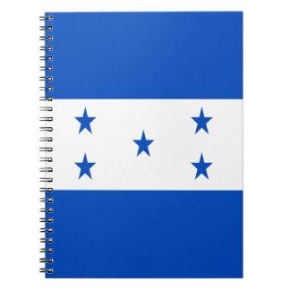 Caderno Baixo custo! Bandeira de Honduras