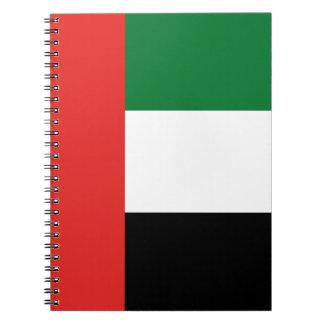 Caderno Bandeira de Emiradosarabes