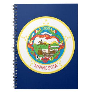 Caderno Bandeira de Minnesota
