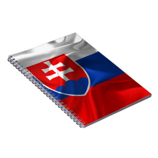 Caderno Bandeira de Slovakia