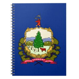 Caderno Bandeira de Vermont