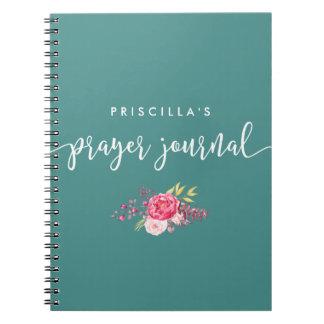 Caderno baseado num guião e floral da oração