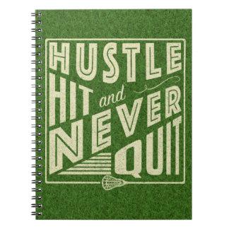 Caderno Batida da convicção e nunca parado, Lacrosse
