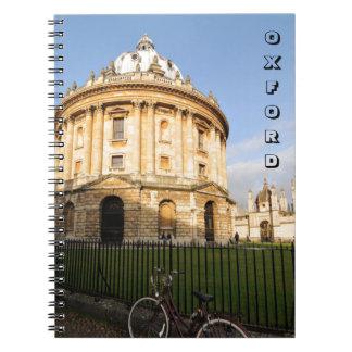 Caderno Biblioteca em Oxford, Inglaterra
