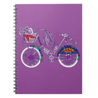 Caderno Bicicleta