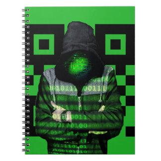 Caderno Binário de QR