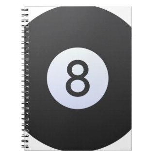 Caderno Bola 8