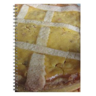 Caderno Bolo italiano tradicional Pastiera Napoletana