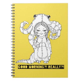 Caderno Bom dia? Realmente?