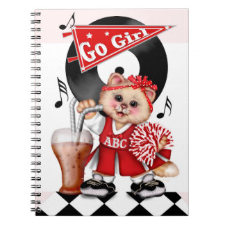 Caderno BONITO da foto do CHEERLEADER do CAT (80