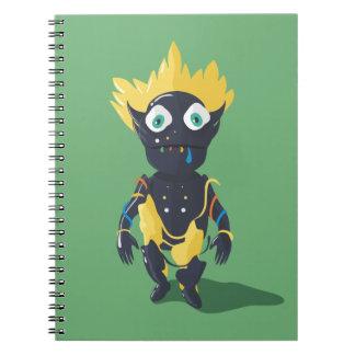 Caderno bonito da foto do zombi (80 páginas B&W)