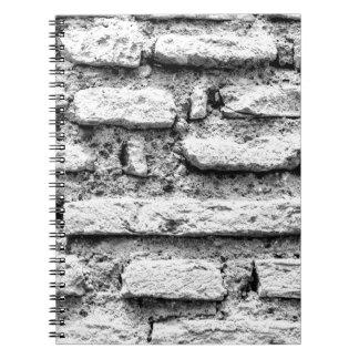 Caderno Brickwall rústico