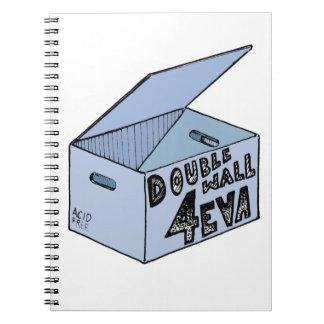 Caderno Caixa sem ácido arquivística dupla parede de 4 Eva