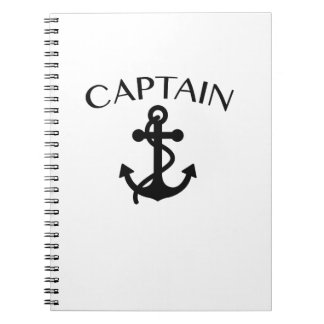 Caderno Capitão do cruzamento do barco da navigação do mar