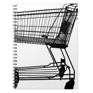 Caderno Carrinho de compras