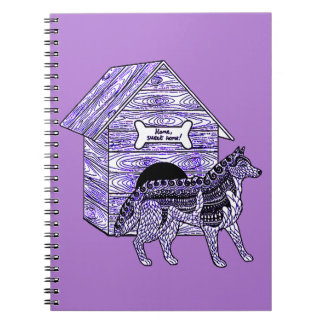 Caderno Casa de cachorro