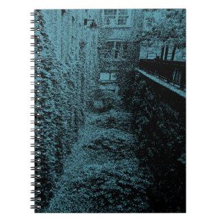 Caderno - - cena do tijolo & da hera - alguma cor