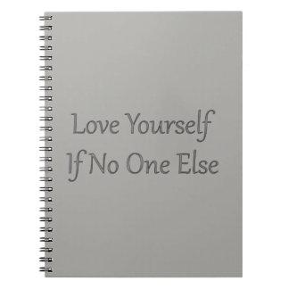 Caderno cinzento do amor você mesmo