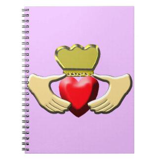 Caderno Claddagh