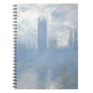 Caderno Claude Monet - casas da arte de Londres do