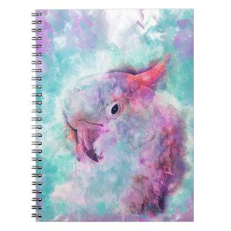 Caderno Cockatoo da aguarela