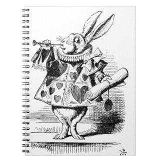 Caderno Coelho branco