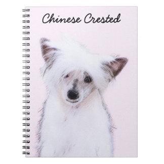 Caderno Com crista chinês (Powderpuff)