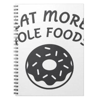 Caderno Coma mais alimentos do furo